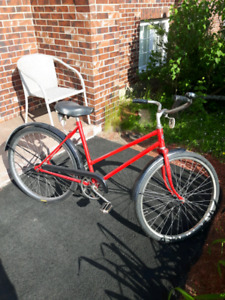 vintage red cruiser summer sale!