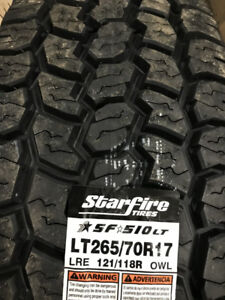 NEW ALL SEASON TIRES OVER 7000 TIRES JUST ARRIVED