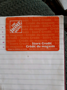 300 home depot store credit
