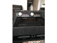 Disco dj Cd players american audio mc710