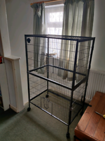 2 level rat cage with 4 doors