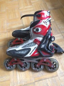 Patin roue aligné d marque RollerBlade