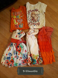 ~* Girl clothes 9-12months and girls 12months *~