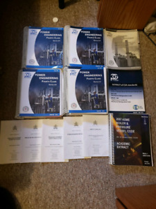 4th class power engineering book set