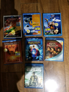 Blu-Ray Collection Lots Of Kids