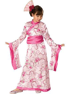 Child Geisha Girls Kimono Asian Princess Outfit Fancy Dress Chinese Costume New