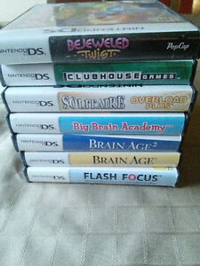 Nintendo DS game bundle.