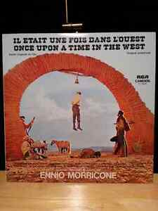"Vinyle bande sonore ""Once Upon a Time in the West"" vinyl soundtr"