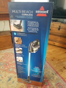 New in box - Bissell cordless multi reach vacuum