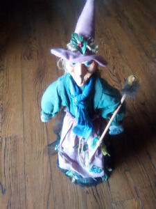 Witch, handmade,  31 in tall