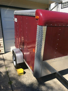 Enclosed Tool / Cargo Trailer