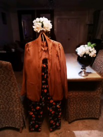 3 piece bundle trousers blazer & cardigan