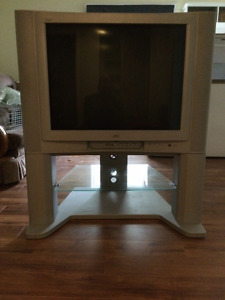"Old Style (Tube) 32"" JVC Flat Screen TV"