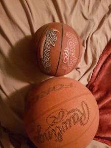 2 ballons de basket