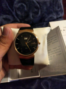 Mens Skagen Watch 697XLRLB  Brand new.