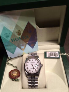 Rolex Datejust Complete Box & Papers