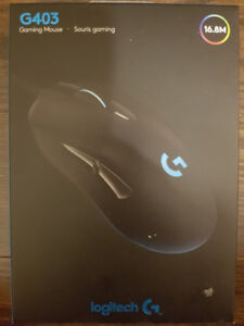 *SEALED* Logitech G403 Prodigy Wired Gaming Mouse