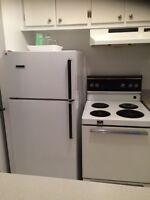 """Frigo et cuisiniere 24""""/ fridge and stove 24"""""""