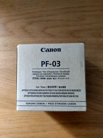 Canon printhead