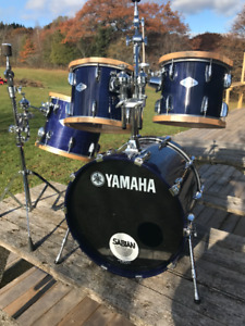 Yamaha Beech Custom Drums for sale
