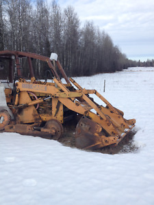 loader with clam bucket for 450 Case dozer