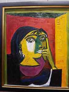 Picasso Oil  Paintings Reproduction /  Peiture a lhuile Picasso