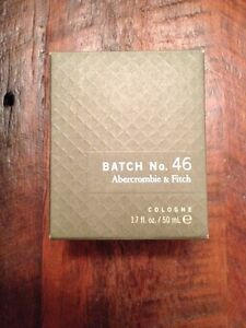 Brand new abercrombie & fitch cologne Cambridge Kitchener Area image 1