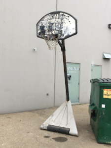 Basketball Pole & Hoop
