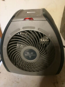 space heater two settings with temp control