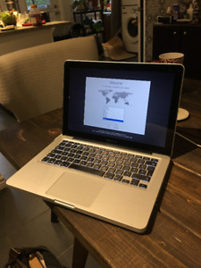 MacBook Pro Mid 2012 A1278 / 13 inch / 256 gb SSD / 8 gb RAM