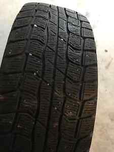 4 WINTER TIRES WITH RIMS Kitchener / Waterloo Kitchener Area image 2