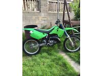 Kx125 Super Evo ( 1999 ) off road bike swap for car or quad px