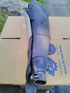 HONDA CBR250R 2011 EXHAUST CAN MUFFLER WITH HEAT SHIELDS Windsor Region Ontario image 8