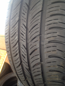2  Continental Summer tires 235/55/17
