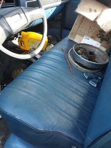 Factory chev bench seat 73 to 91 truck.
