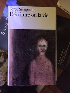 ''L'écriture de la vie'' de Jorge Semprun
