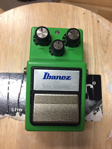 *** Ibanez TS9 TUBESCREAMER Overdrive Japan! ***