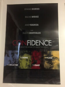 Confidence Movie Poster (laminated)
