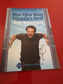 Theatre program signed by Christian Slater