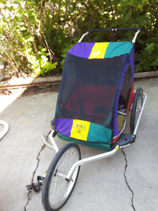 Chariot child bike trailer (double - holds two children)