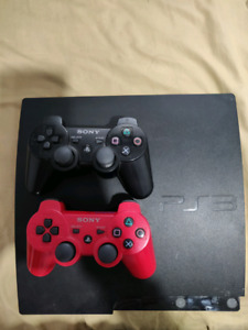 Ps3 with 2 controllers plus games