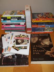 36 romans neufs ou à l'état neuf pour jeunes