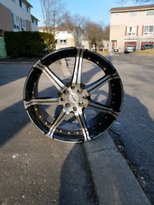 "17"" Fast Rims set of 4"
