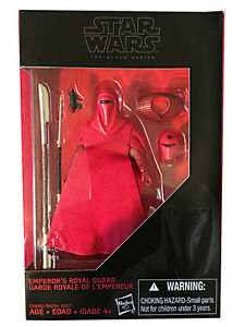 Star Wars Black Series New 3.75 inch Emperor Royal Guard