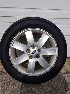 17'' ford rims and tires