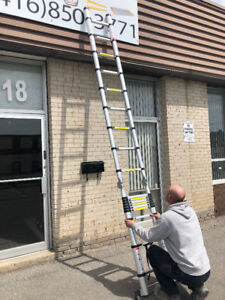 Telescopic ladder 12 ft ,17 ft multi function ladder647 748 6462