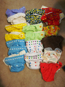 Huge lot cloth diapers