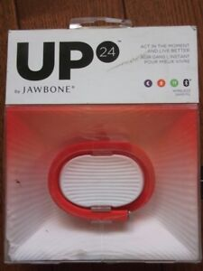 New Jawbone UP24 Fitness Tracker, Medium Wristband.