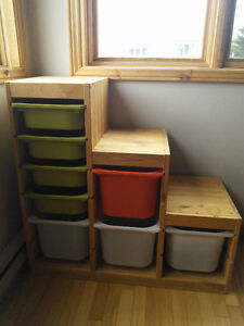 IKEA kids combination storage, excellent conditions