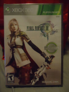 FINAL FANTASY XIII PLATINUM HITS XBOX 360 GAME BRAND NEW
